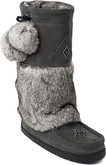 Manitobah Mukluks - SNOWY OWL WP CHARCOAL