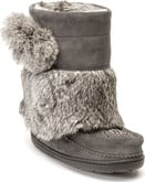 Manitobah Mukluks - SNOWY OWLET CHARCOAL YOUTH WP