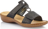 Rieker - BLACK SLIDE SANDAL