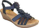 Rieker - NAVY WEDGE