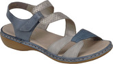 Rieker - BLUE AND WHITE SANDAL