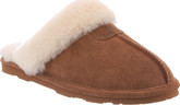 Comfortable Bearpaw Loki Slippers with Sheepskin Collar