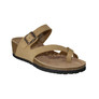 WEDGE CRISS CROSS TAN
