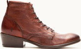 Frye - CARSON LACE UP BROWN