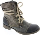 Rieker - NAVY/GREY LACE UP BOOT