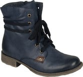 Rieker - NAVY LACE UP BOOT