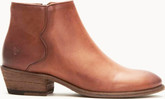 Frye - CARSON PIPING BOOTIE BROWN