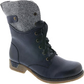 Rieker - LACE UP BOOT NAVY