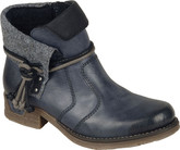 Rieker - SHORT NAVY BOOT
