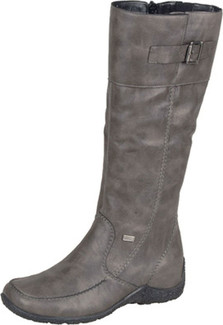 Rieker Women S Boots Astrid Graphite Tall Boot From