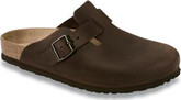 Birkenstock - BOSTON HAVANA OILED NARROW