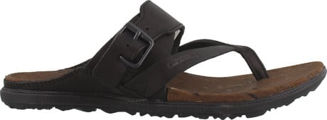 Merrell - AROUND TOWN LUXE BUCKLE THONG BLACK