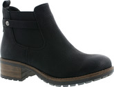 Rieker - BLACK GORE PULL ON BOOT