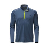 M VERSITAS 1/4 ZIP SHADY BLUE
