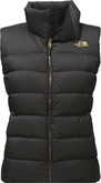 The North Face - W NUPTSE VEST TNF BLACK BRIGHT