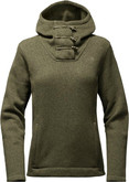 The North Face - CRESCENT HOODED PULLOVER GREEN