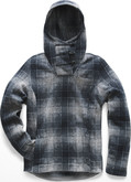 The North Face - W CRESCENT HOODED PULLOVER GRE