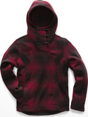 The North Face - W CRESCENT HOODED PULLOVER RED