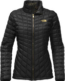 The North Face - W THERMOBALL FULL ZIP TNK BLAC