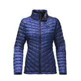 The North Face - W THERMOBALL FULL ZIP BRIT BLU