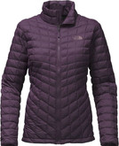The North Face - W THERMOBALL FULL ZIP EGGPLANT