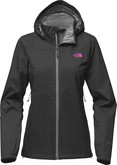 The North Face - W RESOLVE PLUS JACKET ASPHALT