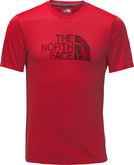 The North Face - M REAXION GRAPHIC TEE TNF RED