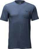 The North Face - M SS TRIBLEND POCKET TEE NAVY