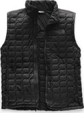 The North Face - M THERMOBALL VEST BLACK MATTE