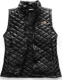 The North Face - W THERMOBALL VEST BLACK SHINE
