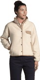 The North Face - W CRAGMONT FLEECE JCKT SND/KHA