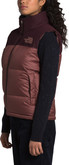 The North Face - W ECO NUPTSE VEST PURPLE/BROWN