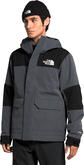 The North Face - M CYPRESS JACKET GREY/BLK