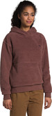 The North Face - W SHERPA PO HOODIE MARRON PURP