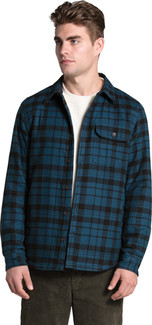 The North Face - M CAMPSHIRE SHIRT BLUE WING TEAL HERITAGE MEDIUM TWO COLOR PLAID