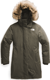 The North Face - W ARCTIC PARKA NEW TAUPE GREEN