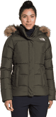The North Face - W GOTHAM JACKET NEW TAUPE GRN