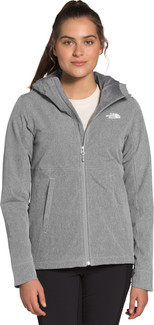 The North Face - W SHELBE RASCHEL HOODIE MGRY