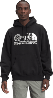 The North Face - MEN'S COORDINATES PULLOVER HOODIE TNF BLACK