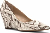 Franco Sarto - ALICIA NATURAL PYTHON CANVAS