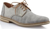 Rieker - GREY CANVAS LACE UP