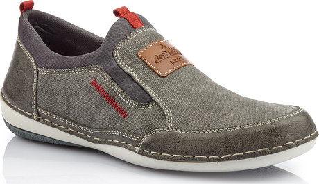 Rieker - GREY CASUAL SLIP ON