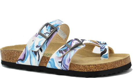 Biofeet - 2 STRAP WITH TOE LOOP BLUE WATER