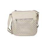 PERFORATED CROSS BODY NUDE