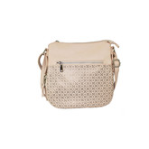 PERFORATED CROSS BODY ROSE