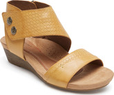 Cobb Hill Summer Collection Hollywood Cuff Amber Sandals
