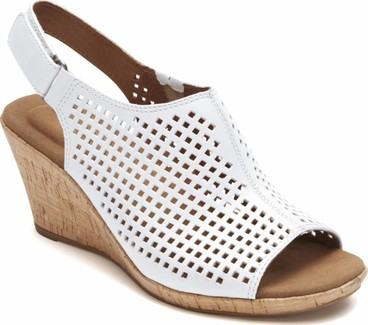 Rockport - PERFORATED SLING WHITE