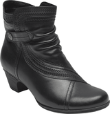Cobb Hill - ABBOTT PANEL BOOT BLACK WIDE