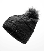 The North Face - TRIPLE CABLE FUR POM TNF BLACK