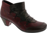 Remonte - BROWN AND WINE 4 BUTTON BOOTIE